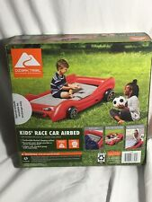 """Race Car Airbed Kids Ozark Trail 4'5"""" Length Red Color Brand New in Box."""