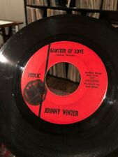 JOHNNY WINTER 45 Gangster Of Love / Eternally TEXAS R&B SOUL ROCK on FROLIC