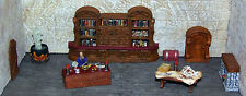 Painted Wizard Room Furniture Set 2 - Works with Dwarven Forge and DnD D&D