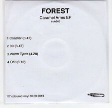 (EF368) Forest, Caramel Arms EP - 2013 DJ CD