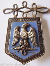 Insigne Cavalerie 8° REGIMENT DE HUSSARDS ORIGINAL  émail grand feu