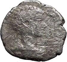 CARACALLA Ancient Silver Roman Coin Felicitas Good Luck Commerce symbol i32523