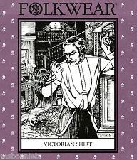 Folkwear Men's Victorian Shirt, Nightshirt or Ladies' Tunic Sewing Pattern #202