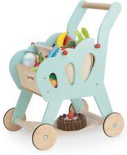 Le Toy Van Honeybake Shopping Chariot Avec Sac Creative Préscolaire Jouet BN