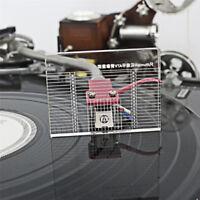 10 mm LP Vinyl Record Player Measuring Phono Tonearm VTA/Cartridge Azimuth Ruler