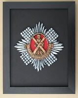 Large Scale Framed ROYAL SCOTS Badge Plaque