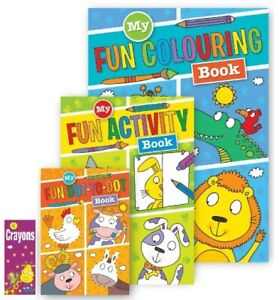 Squiggle Kids Children  My Fun Activity Pack Colouring Book Activity Dot to Dot