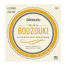 D'ADDARIO J81 - Set di 8 Corde per Irish Bouzouki (011/040)