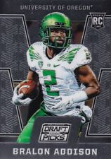 2016 Prizm Collegiate Draft Picks Trading Card,(Rookie) #134 Bralon Addison