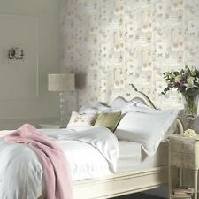 FELICITY PARIS WALLPAPER - NATURAL - ARTHOUSE 665400 BUTTERFLY