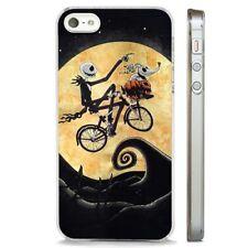 Pesadilla antes de Navidad volando Bicicleta claro caso cubierta teléfono se adapta iPhone 5 6 7 8 X