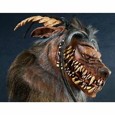 WEREWOLF Halloween Costume Mask Monster Beast Wolf Man Vampire Animal Devil Horn