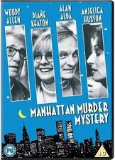 MANHATTAN MURDER MYSTERY DVD WOODY ALLEN DIANE KEATON ALAN ALDA FILM MOVIE
