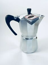 Stove Top Moka Italian Espresso Maker by GAT~9cup~Induction~NWT