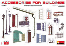 Accessories for Buildings (WWII Buildings & Accessories) 1/35 MiniArt 35585