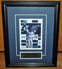 Juan Pablo Montoya Signed 2001 Formula 1 Monza GP Victory Photo Frame
