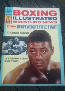 Boxing Illustrated Wrestling News. May 1963. F. Patterson. Tony Canzoneri Poster