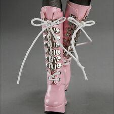 Dollmore MSD (high heel) Shoes - Platform Basic Boots (Pink)