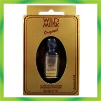 COTY WILD MUSK OIL ORIGINAL MADE BRAZIL 5ml (0.2oz) ALMISCAR SELVAGEM