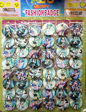 VOCALOID HATSUN MIKU 4.3CM 40x PIN BADGES NEW FOR CLOTH BAG PARTY