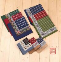 100% Cotton Polka Dot Print Handkerchiefs Pocket Square Hanky Men Women 40*40CM
