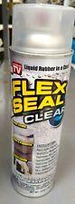 2 Flex Seal Clear Liquid Rubber Sealant Coating 14oz Ea