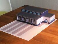 Kleine Spedition 1/87 Kartonmodellbau