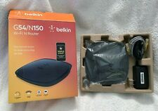 Belkin N150 Wireless/Wi-Fi N Router with MultiBeam Technology, IEEE 802.11 b/g/n