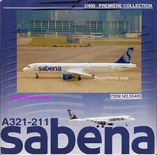 DRAGON WINGS Sebena Airlines Airbus A321 1:400 Diecast Civil Plane Model 55405