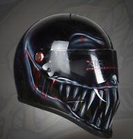 Custom Airbrushed/painted Matrix StreetFX fibreglass helmet Bandit Simpson style