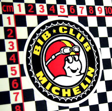 French Tyres Club Sticker - BiB Club Matra Renault Citroen Peugeot