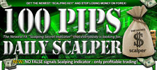 Forex Indicator 100 Pips Daily Scalper alert sonoro + email