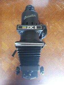 Beseler 23C Series II XL Condenser Darkroom Photo Enlarger Black 23CII 23CII-XL