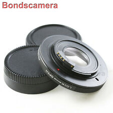 AF Confirm Canon FD Mount Lens to Nikon F Camera Optical Adapter D4 D750 D5200