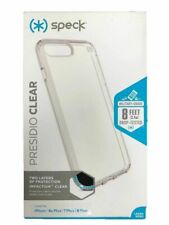 Speck Presidio Clear Case Superior Protection Cover for iPhone 8 Plus 7 Plus