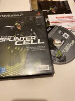 😍 jeu playstation 2 ps2 pal fr tom clancy's splinter cell complet tbe