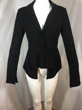 2b Rych Soft Wool Blazer Jacket Size 6 Peplum Lagenlook Goth Edwardian