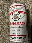 Wiedemann Bohemian Special Fine Beer Can Straight Steel Pull Tab