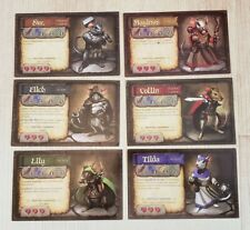 Mice and Mystics Game Pieces - 6 Cards