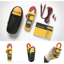 New Fluke Digital Clamp Meter Ac Multimeter Tester Dc Voltage Rms Amp True Test