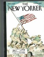 New Yorker Magazine May 28 2007 American Flag Cover Tintin