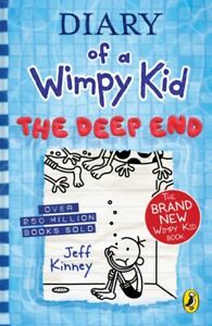 Diary of a Wimpy Kid: The Deep End (Book 15) by Jeff Kinney - 9780241396643 -NEW