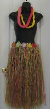 Long Hula Skirt Leis Womens Luau Hawaiian Costume Accessories Tropical Hot New