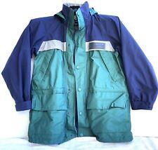 Vtg EBTEK Eddie Bauer Gore-Tex Waterproof Hooded Parka Jacket Mens Small