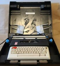 Vintage Olivetti Lettera 36 Electronic Portable Typewriter with Case Germany