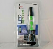 Nightlight Lava Light LED New in Package Green Black