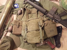 Pack Field Combat M-1961 US Army Vietnam Buttpack Kampftasche Canvas