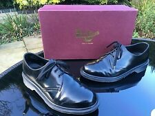 Dr. Martens 1461 black Boanil Brush shoes UK 5 EU 38 Made in England RRP 190.00