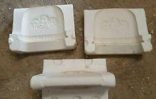 ceramic mold, Daisy napkin holder