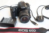 Canon Eos 60D 18.0MP Digital SLR Cámara con 18-55 Es Objetivo